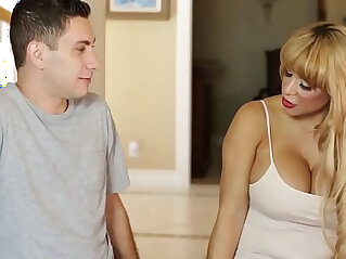 Do you wanna fuck your Mommy? Alyssa Lynn and Brad Knight