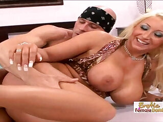 Skanky Waitress Gets Her Pierced Pussy and Fucked