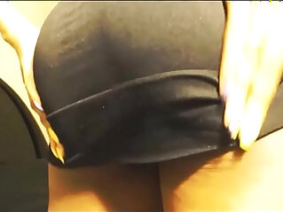 Panty stuffing squirting