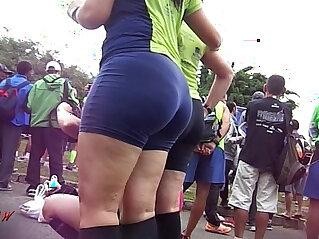 Candid Booty Culo Bunda Rabuda Suplex Spandex Lycra voyeur pawg Premium
