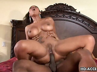 Big tit ebony Lacey Duvalle and her black lover