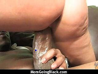 Huge Black Cock Destroys Amateur Housewife
