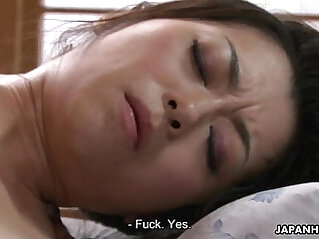 Hairy Asian pussy cunt licked and toyed