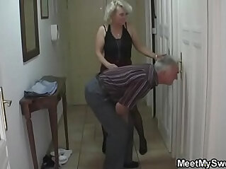 She gets into 3some by his parents