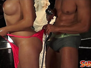 Esmeralda Rose fucked in Ass at Saboom