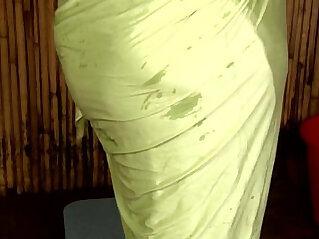 Short film Aunty nipple visible