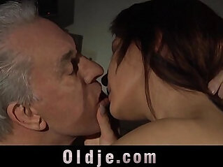 Young girls are riding old men like fuck machines