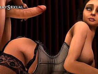 3D Interrogatorio Sexual CosplaySexual