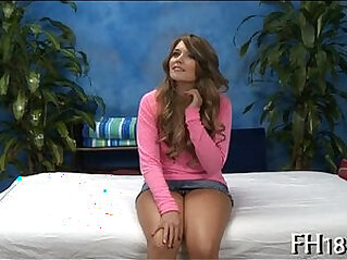 Sexy 18 year old babe receives drilled hard