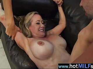 Hot Big Tits Milf brandi janice Ride Long Hard Dick On Tape