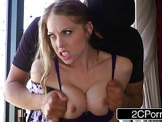 Horny Housewife Shawna Lenee Fucked by Two Anonymous Masked Men