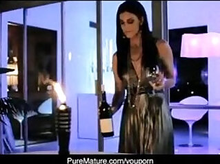 PureMature Candlelight Anal intercorse With Hot Mom India Summer