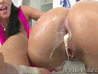 Pawg big butt like anal threesome Evil Angel