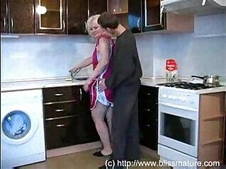 Russian Mom With Son In Kitchen Free masturbation Porn Videos