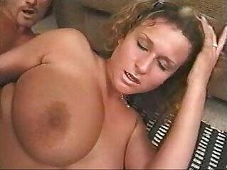 Huge natural big tits stiff anal