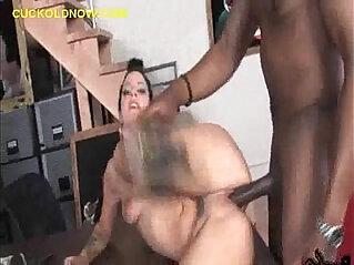 Cuckold Licks Black Fucks
