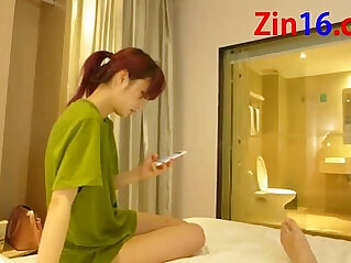 Chinese Amateur couple Fuck In Hotel!