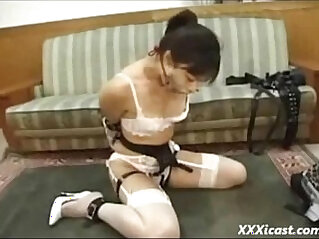 Asian Teen Gagged with black mamba Cock Free BDSM Porn video View more