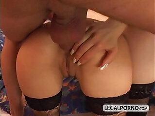 Deep fucked in a bedroom SL