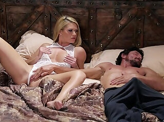 Blonde Babe and her Sleepwalker Step Dad Abby Cross and Tommy Pistol