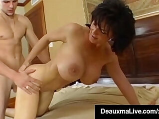 Stunning Fit Milf Deauxma Gets Ass Banged Hard Young Stud