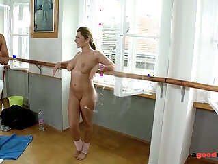 Big titty fucked hardcore in Gym