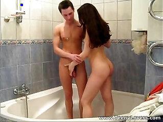 Wet teenagers Lisa Musa making love